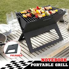 Portable BBq Grill Notebook for Hiking/Outdoor activites