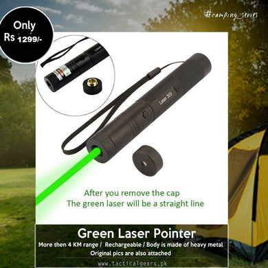Rechargeable Powerful Green Laser Pointer (YF-Laser 303) with more then 4 KM