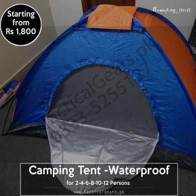 Camping Tents - ( Water Resistance with Carry Bag )