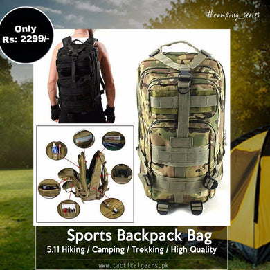 5.11 Backpack - with Water CamelBak (High Quality)