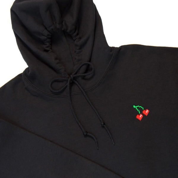 'Cherry on Top' Black Hoodie