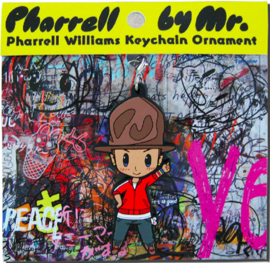Pharell by Mr. Key Chain - Red and Yellow