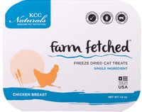 KCC Naturals | Farm Fetched freeze dried chicken breast for cats