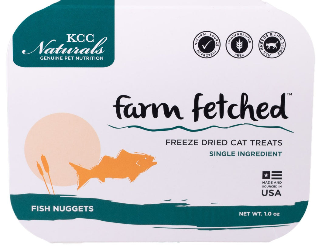 Freeze Dried Fish Nuggets Cat