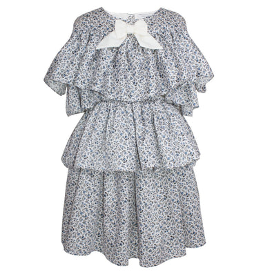 Stella Dress Mini Flowers 6YRS Sample
