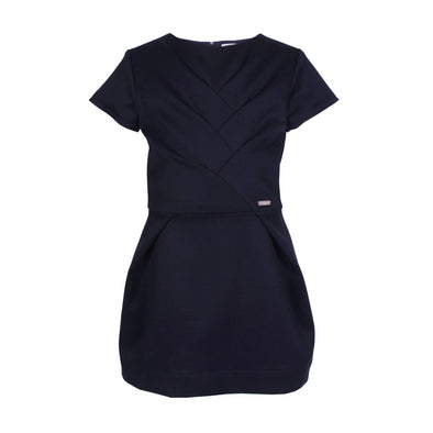 Bamboo Dress True Navy 6YRS Sample
