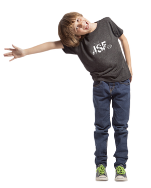 ISF Animal Kids' Triblend Crew
