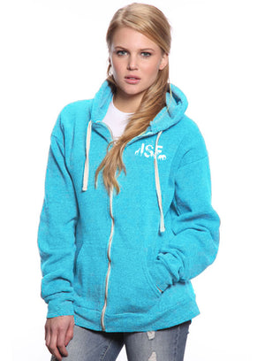 ISF Animal Zip Hoodie - Blue
