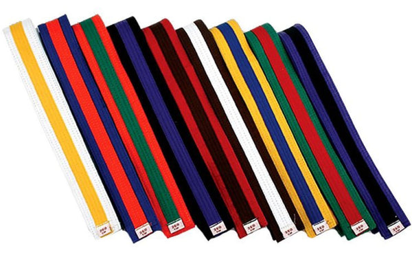 Any Color Belt with Any Color Stripes