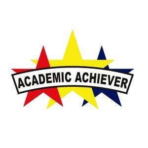 ACADEMIC ACHIEVER PATCH 5""