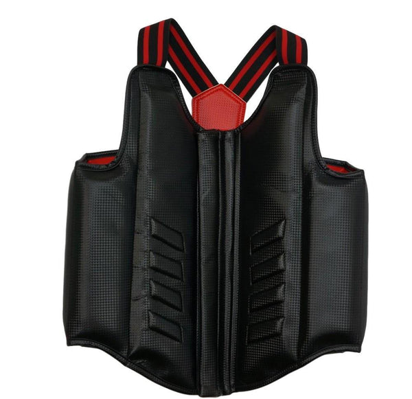 BLACK/RED REVERSIBLE,BODY PROTECTOR ARMOR