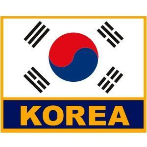 "KOREAN FLAG 3.5"" W"