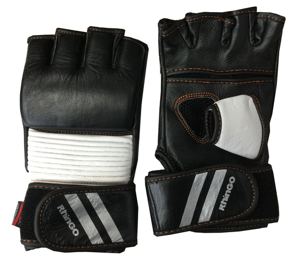 LEATHER GRAPPLING MMA GLOVE W/ THUMB