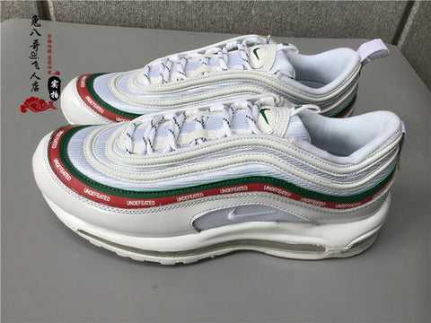 air max 97 bianche undefeated