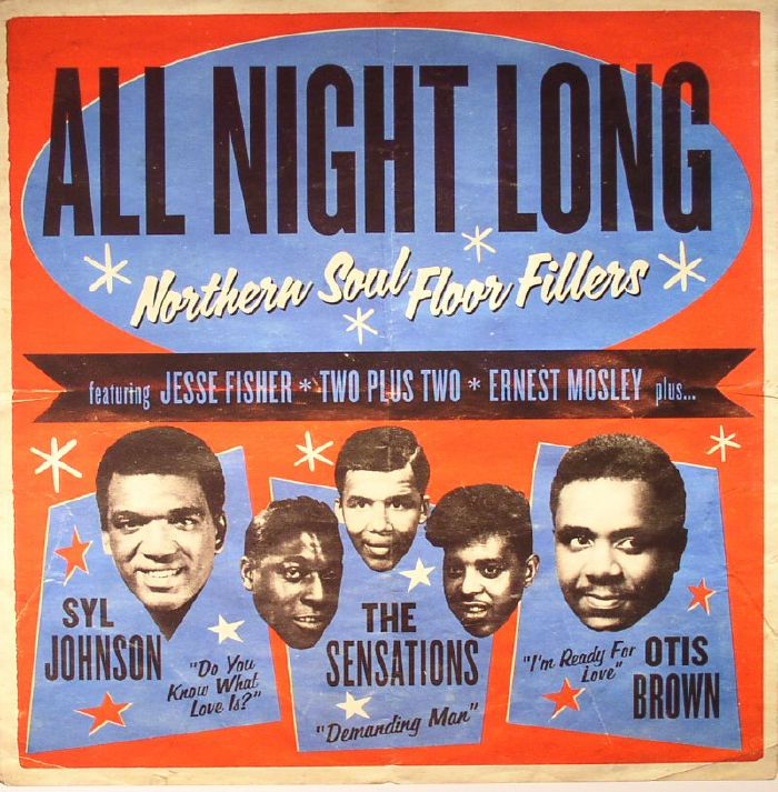 Various Artists: All Night Long: Northern Soul Floor Fillers