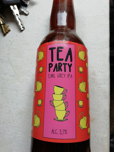 Tea Party- Earl Grey IPA