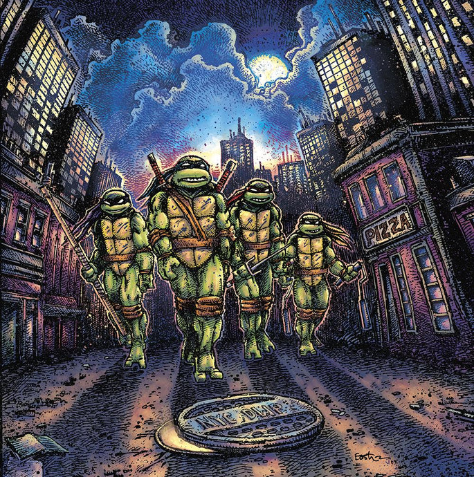 John DuPrez - Teenage Mutant Ninja Turtles (Original Motion Picture Score)