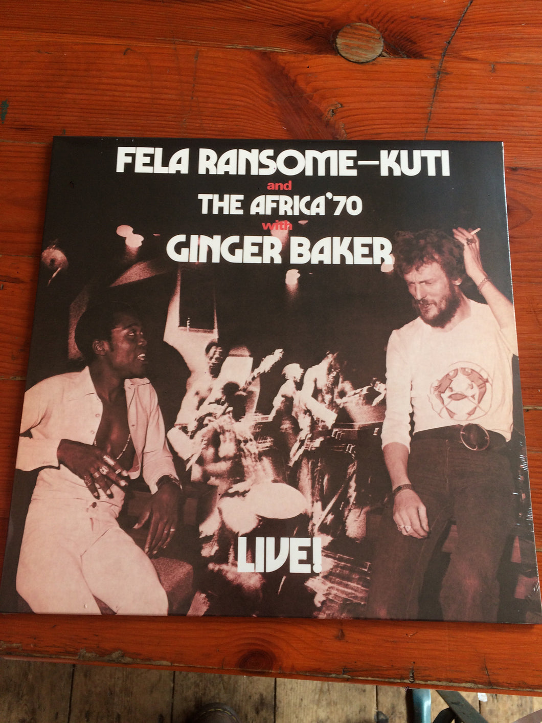 Fela Ransome - Kuti and The Africa '70 with Ginger Baker