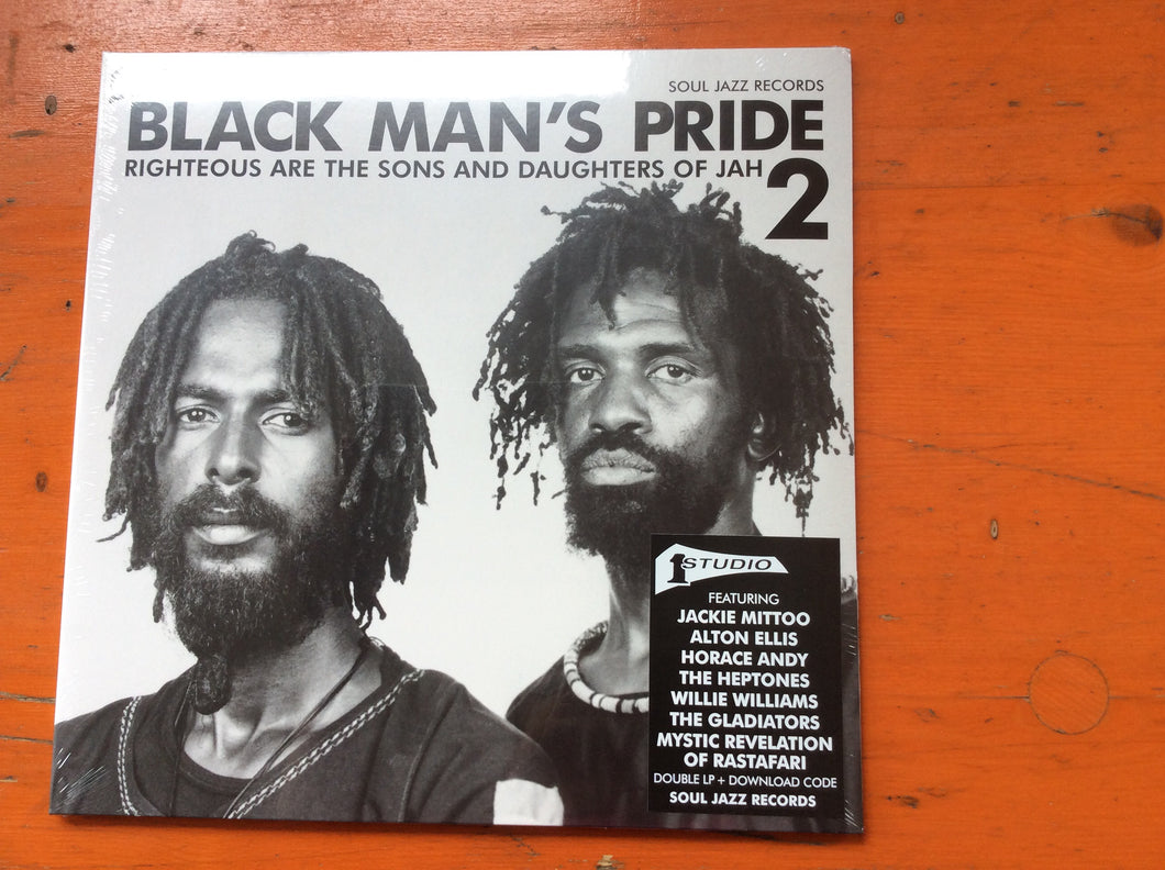 Various Artists / Soul Jazz Records Presents - Studio One Black Man's Pride 2: Righteous Are The Sons And Daughters Of Jah