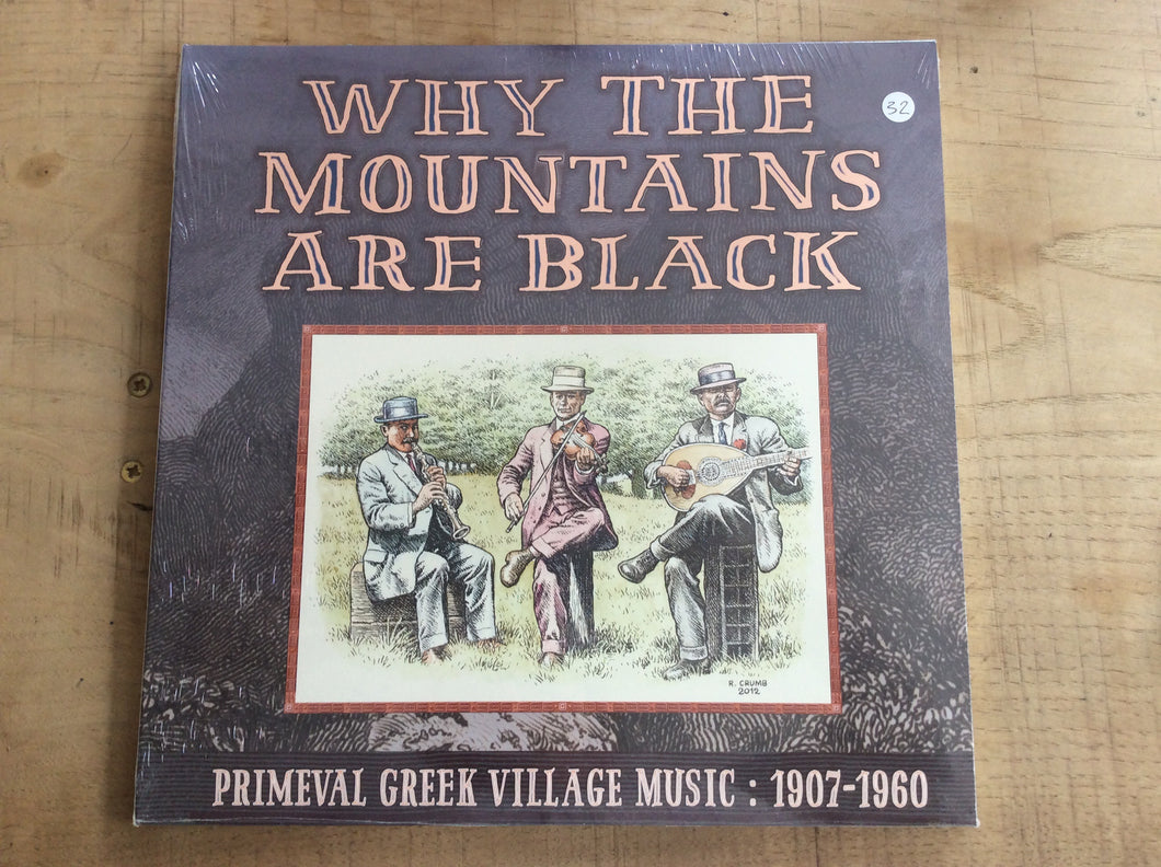 Various - Why The Mountains Are Black