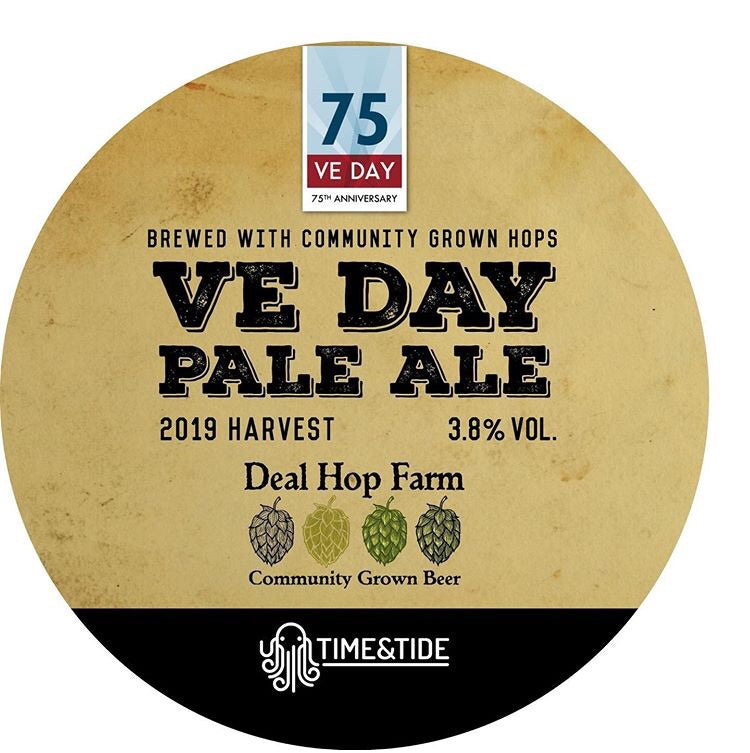 Deal Hop Farm - VE Day Pale Ale 3.8% (Take Out)