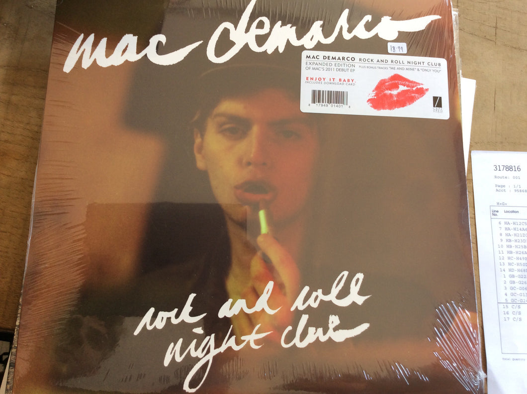 Mac DeMarco - rock and roll nightclub