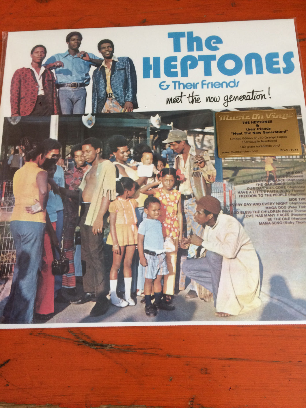 The Heptones & Their Friends - Meet The New Generation!