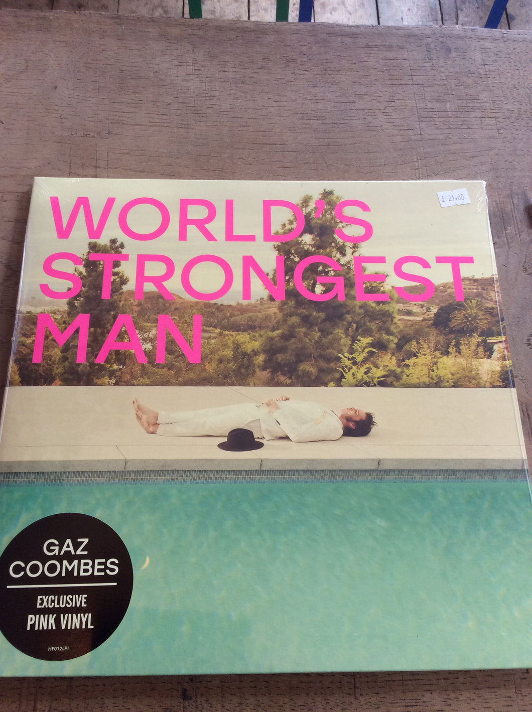 Gas Coombes - Worlds Strongest Man