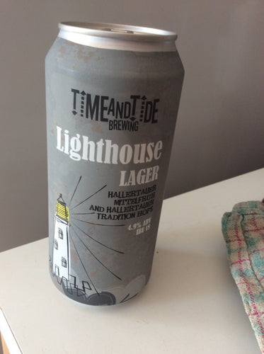 Time and tide - lighthouse lager