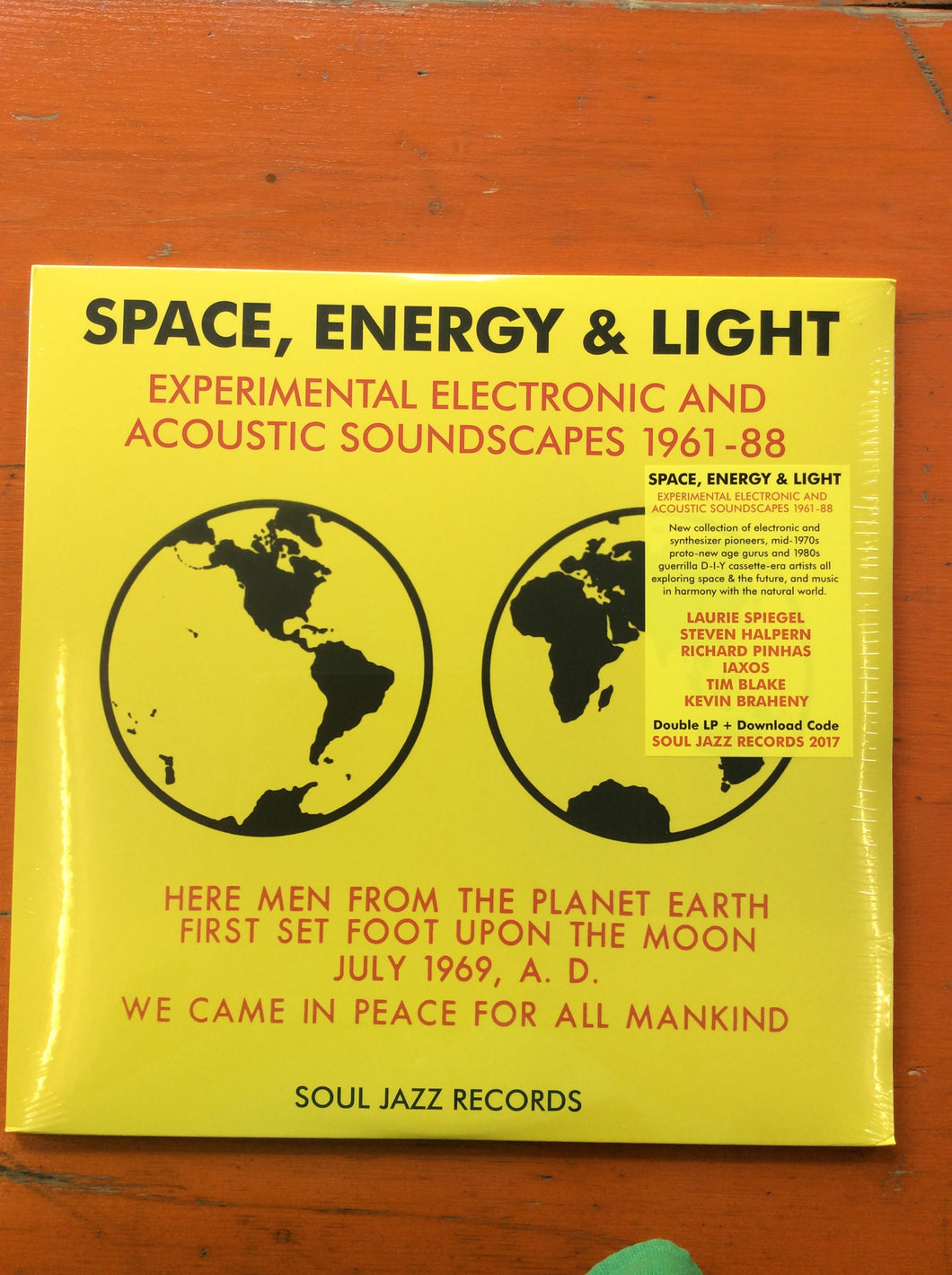 Space, Energy and Light - Experimental Electronic and Acoustic Soundscapes 1961 - 88