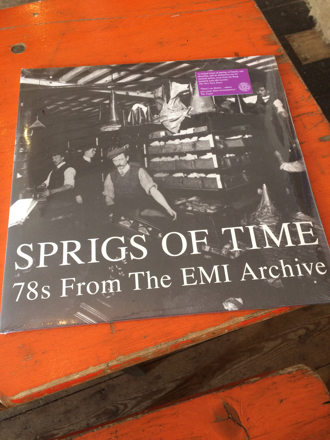 Sprigs Of Time - 78s From The EMI Archive