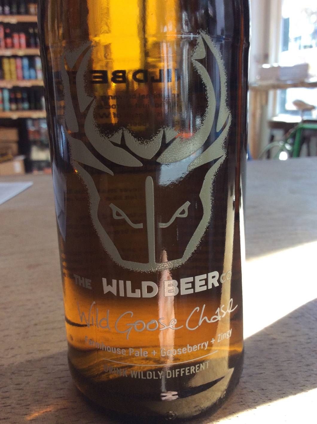 The Wild Beer co. Wild Goose Chase Farmhouse Pale