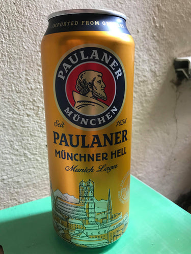 Paulaner Brewery- Munich Lager (500ml) 4.9%