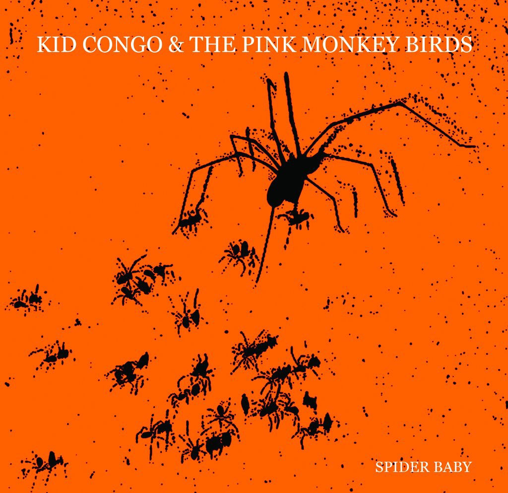 Kid Congo & The Pink Monkey Birds - Spider Baby