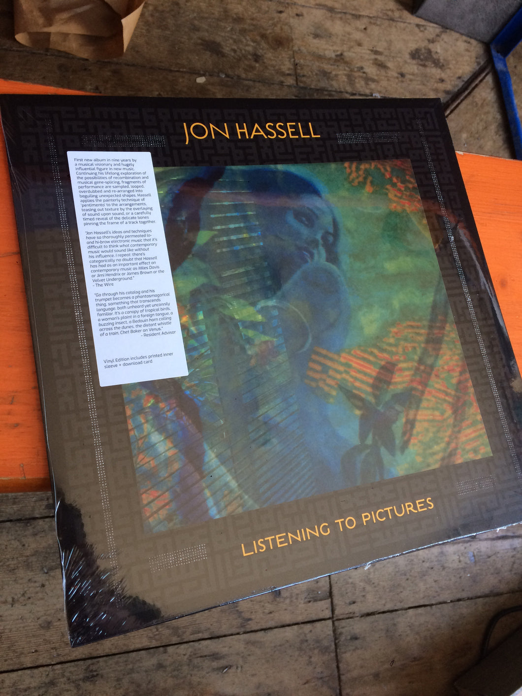 Jon Hassell - Listening To Pictures