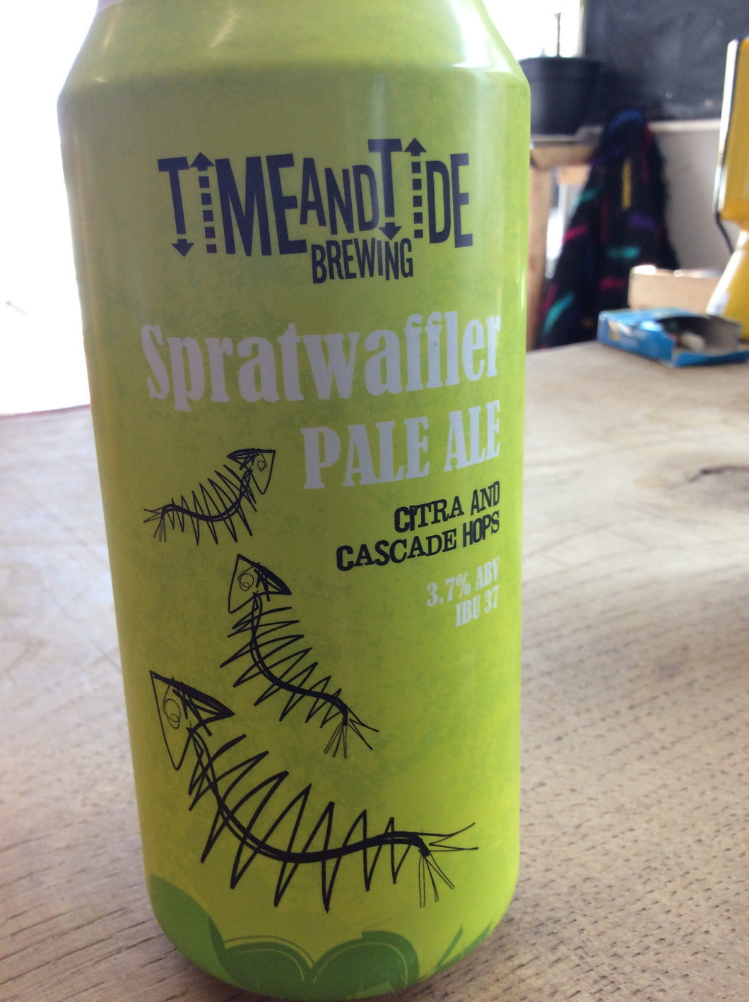 Time and Tide - Spratwaffler Pale Ale