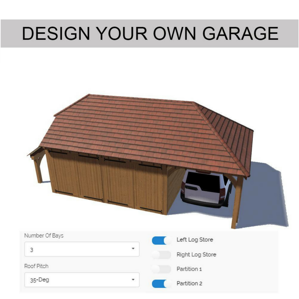 Design Your Own Oak Framed Garage