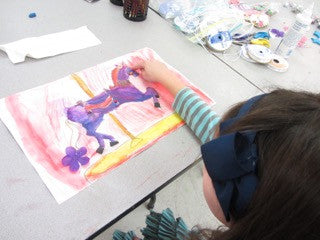 DRAWING & PAINTING ADVENTURE - Saturdays - Jan 23 to Mar 13 - 9:00am-10:00am