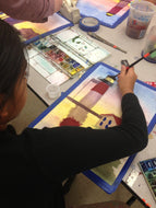 PAINTING EXPERIENCE FOR TEENS & TWEENS - Mondays  - Jan 18  to Mar 8 16 - 5:00pm-6:00pm