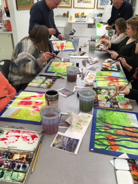 ADULT PAINTING - Wednesdays - Jul 11 - Aug 15 - 6:00pm-7:20pm