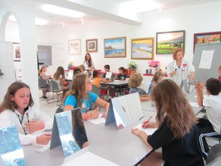 PAINTING WITH HEART - Monday thru Thursday - Aug 20 to Aug 23 - 1:00pm-3:00pm