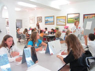 PAINTING WITH HEART - Monday thru Thursday - Aug 19 to Aug 22 - 1:00pm-3:00pm