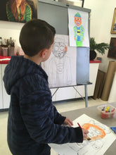 DRAWING & PAINTING ADVENTURE - Saturdays - Apr 7 to May 26 - 9:30am- 10:30am