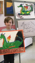 DRAWING & PAINTING ADVENTURE - Saturdays - Sept 29 to Nov 17 - 9:30am-10:30am