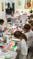 DRAWING & PAINTING ADVENTURE - Saturdays - Apr 11 to May 30 - 9:30am- 10:30am