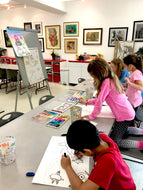 DRAWING & PAINTING - Mondays - Apr 6 to May 25- 4:00pm-5:00pm
