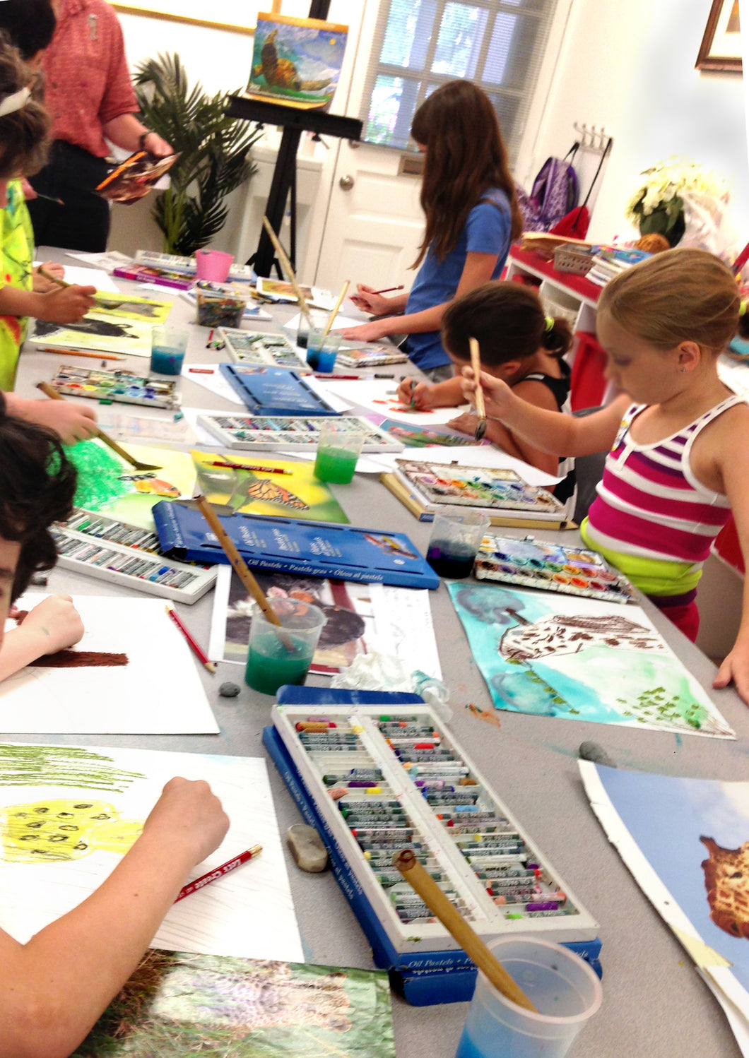SUMMER ART CAMP 2 - Monday thru Friday - Jul 6 to Jul 10 - 9:00am-12:00pm