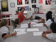CARTOONING - Monday thru Thursday - Jul 29 to Aug 1 - 1:00pm- 3:00pm