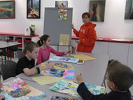 DRAW, DRAW, DRAW & PAINT - Tuesdays - Apr 7 to May 26 - 4:00pm - 5:00pm