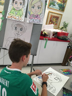 MANGA ART / ILLUSTRATION - Saturdays - Apr 10 to May 29 - 10:00- 11:00am